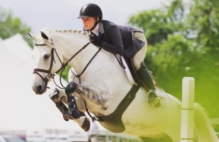 Соревнования по конному спорту конкур