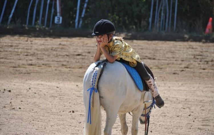 Конный спорт детский