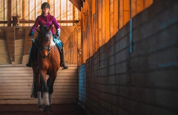 Манеж для конного спорта