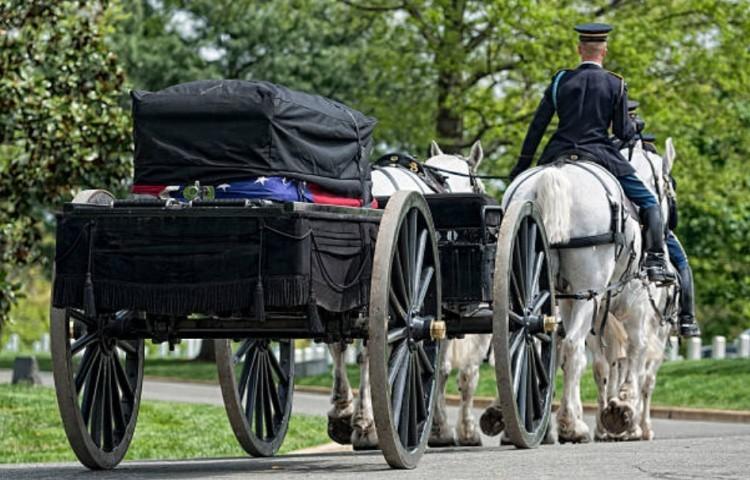 Использование лошадей в похоронных ритуалах