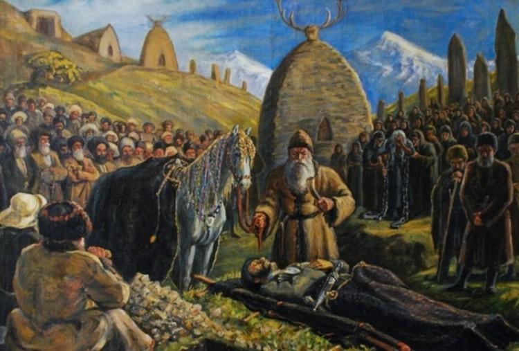 Похоронные обряды монголов