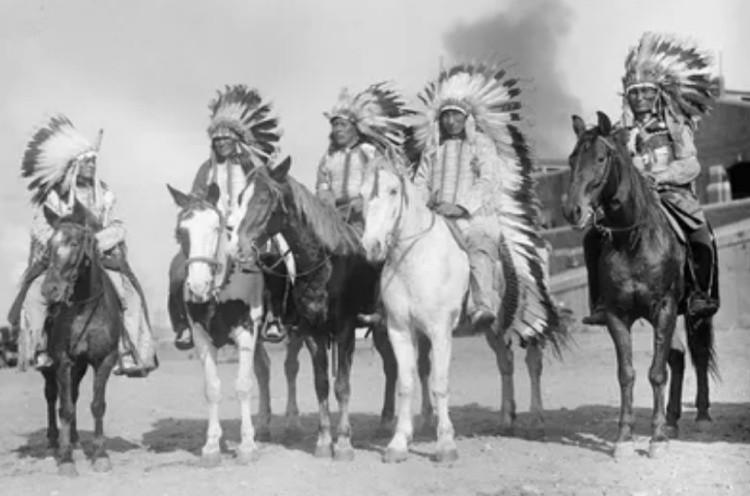 Церемония прощания у индейцев