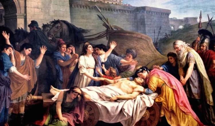 Погребение Патрокла в древности